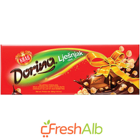 Kras Dorina hazelnut chocolate 250gr