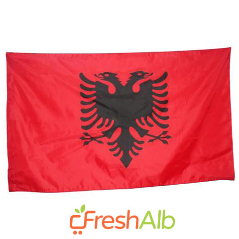 Albanian Flag 36X60 inches
