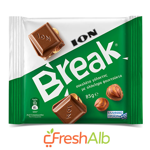 ION chocolate with hazelnuts 85gr