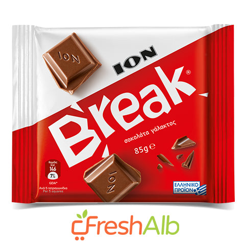 ION Milk chocolate 85gr