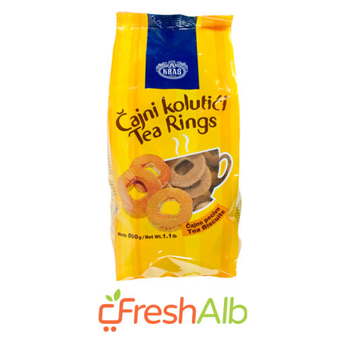 Kras Tea Rings Biscuits 500gr