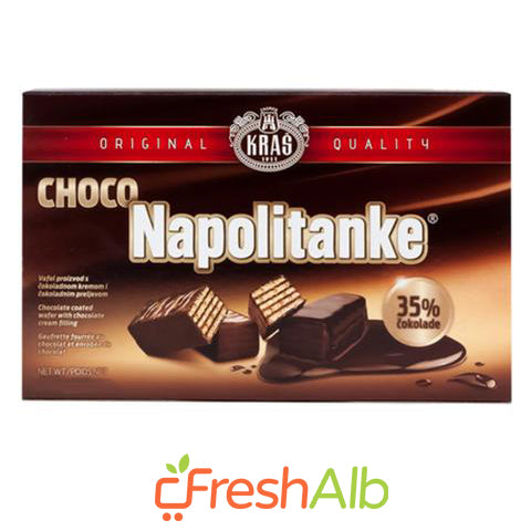 Kras Wafers with Chocolate 250gr