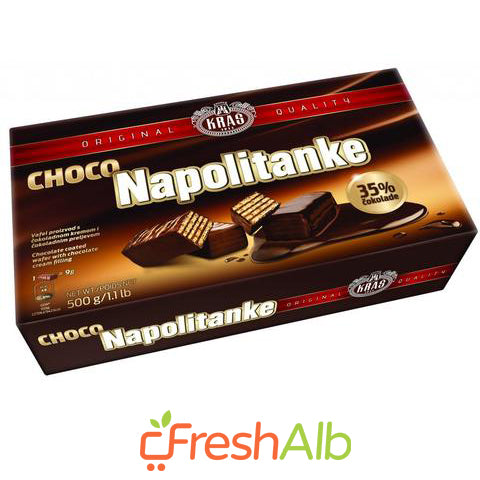 Kras Wafers with Chocolate 500gr