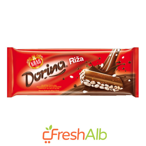 Kras Dorina Rice Chocolate 220gr