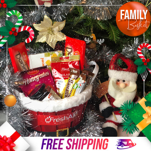 FreshAlb FAMILY Holiday Basket