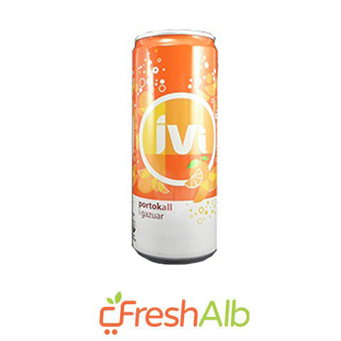Ivi Orange Sparkling Juice 330 ml