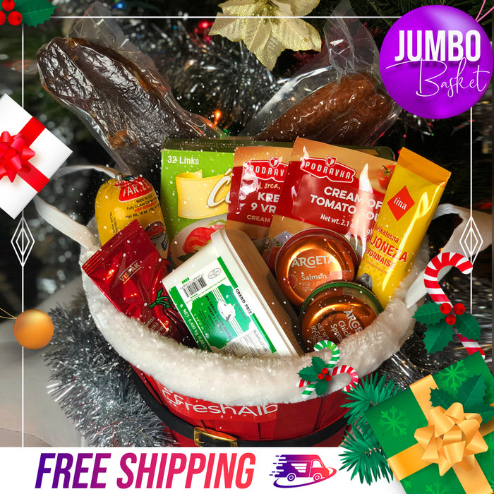 FreshAlb JUMBO Holiday Basket