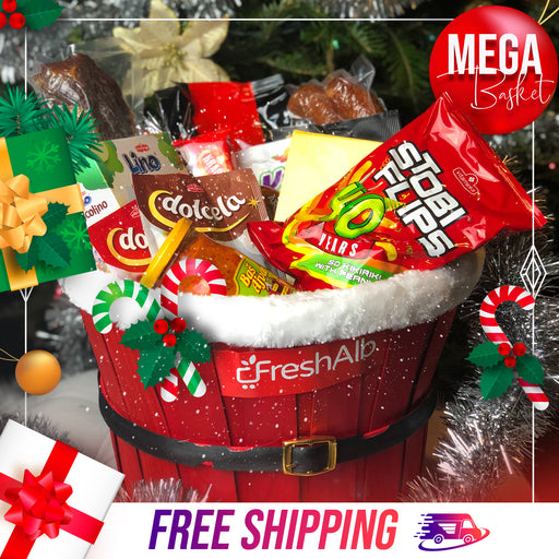 FreshAlb MEGA Holiday Basket
