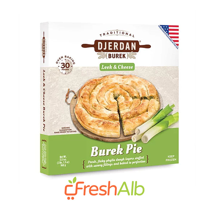 Djerdan Burek with Leek and Cheese 960gr