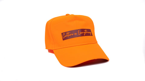 Orange / Burgandy Snapback