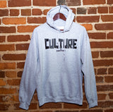 "Grey Hoodie "" Culture is Everything"""