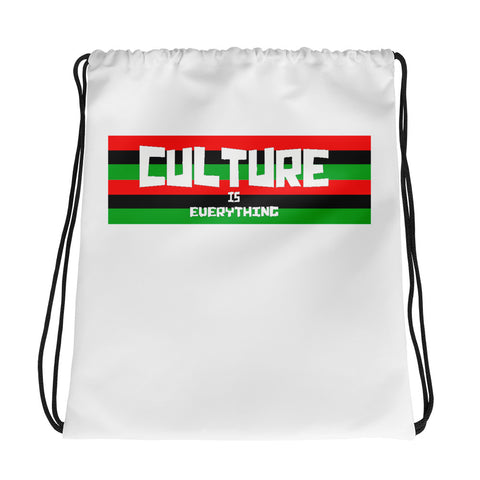 Pan Afro Drawstring bag