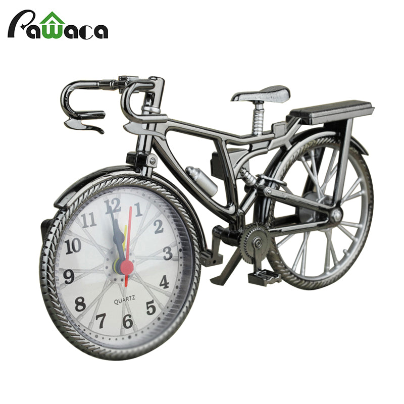 Bike Shape Vintage Alarm Clock / Art Decoration