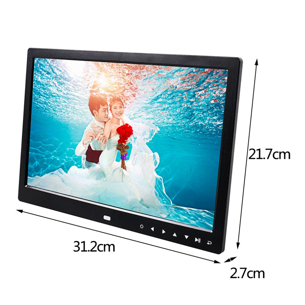 Multi-functional High Resolution 13 Inch Digital Picture Photo Album Frame