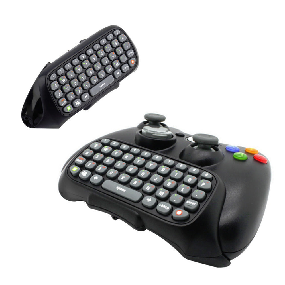 Xbox 360 Game Wireless  Controller Text / Chat / Messenger QWERTY Keyboard