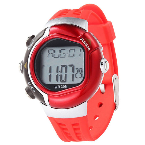 Waterproof Fitness Heart Rate Monitor Calorie Counter Sport Watch