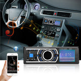 Bluetooth Car Radio Stereo Player FM Radio MP3 USB SD MMC AUX
