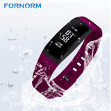 Waterproof Bluetooth Fitness Sports Tracker Watch