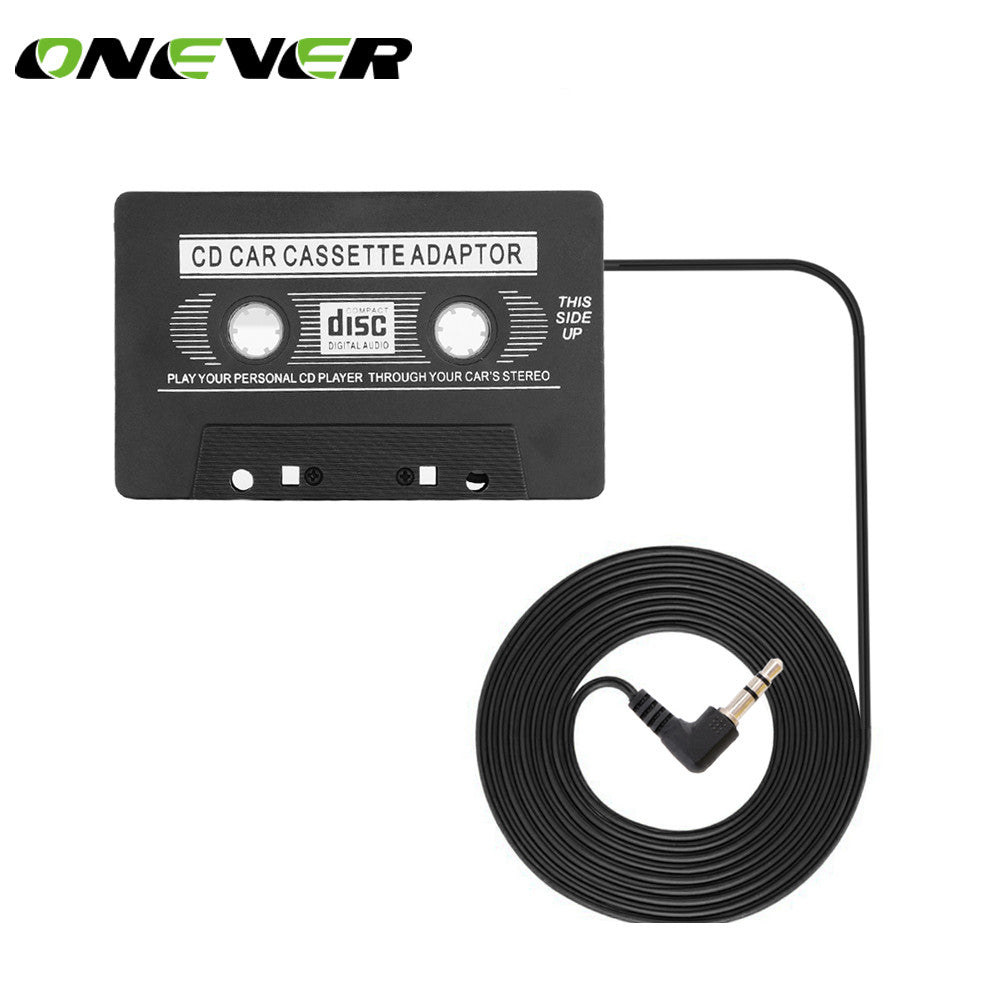 Car Cassette Tape Adapter Converter for Phone MP3, CD Player AUX