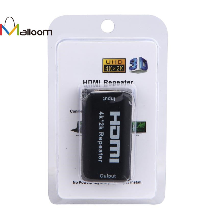 HDMI Repeater 1080P 3D HDMI 4K*2K Repeater Extender Booster Adapter