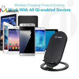 Fast Wireless Quick Charger Pad with USB Port