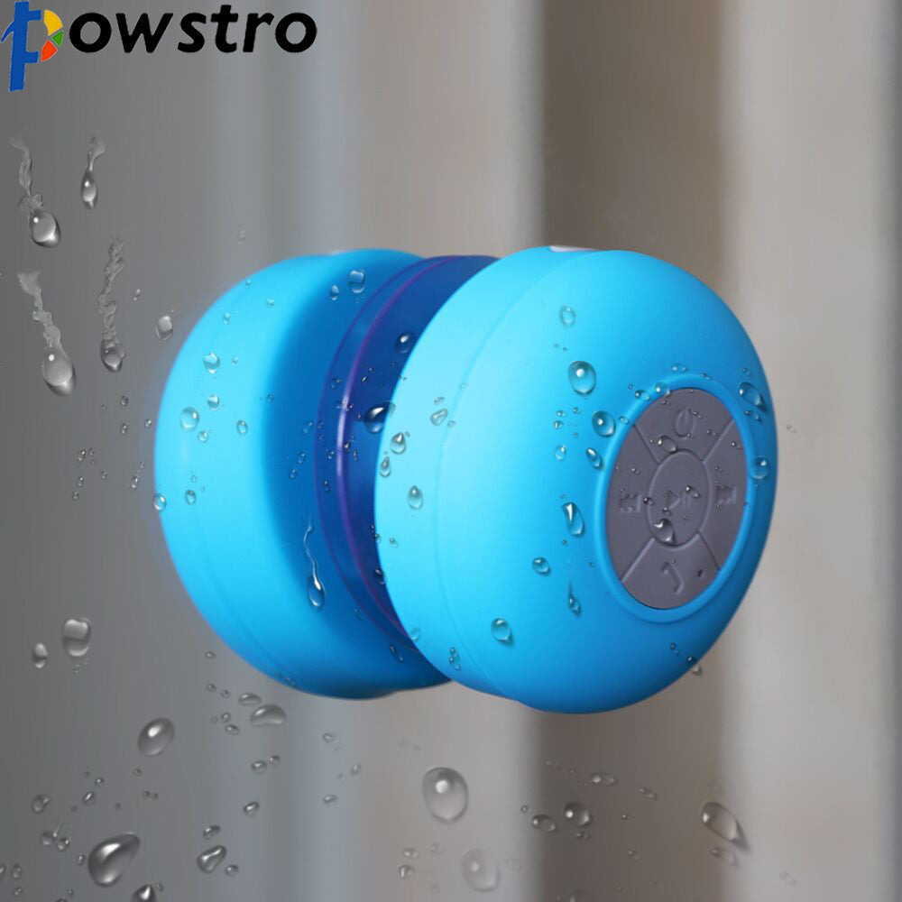 Waterproof Bluetooth Mini Speaker with built in Mic for Handsfree Calls