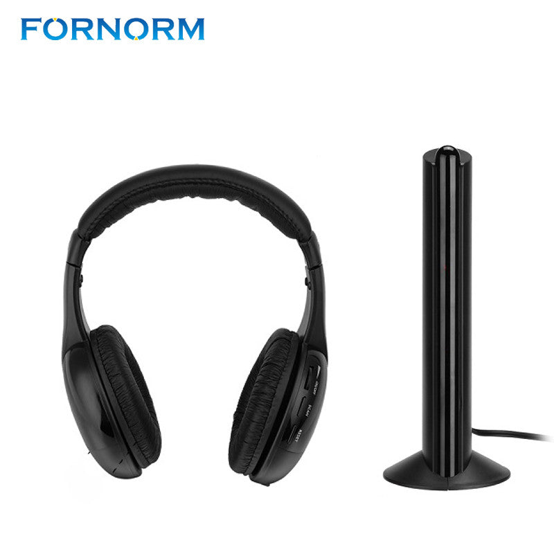 Wireless 5 in 1 Headphone With Emitter Microphone For Gaming