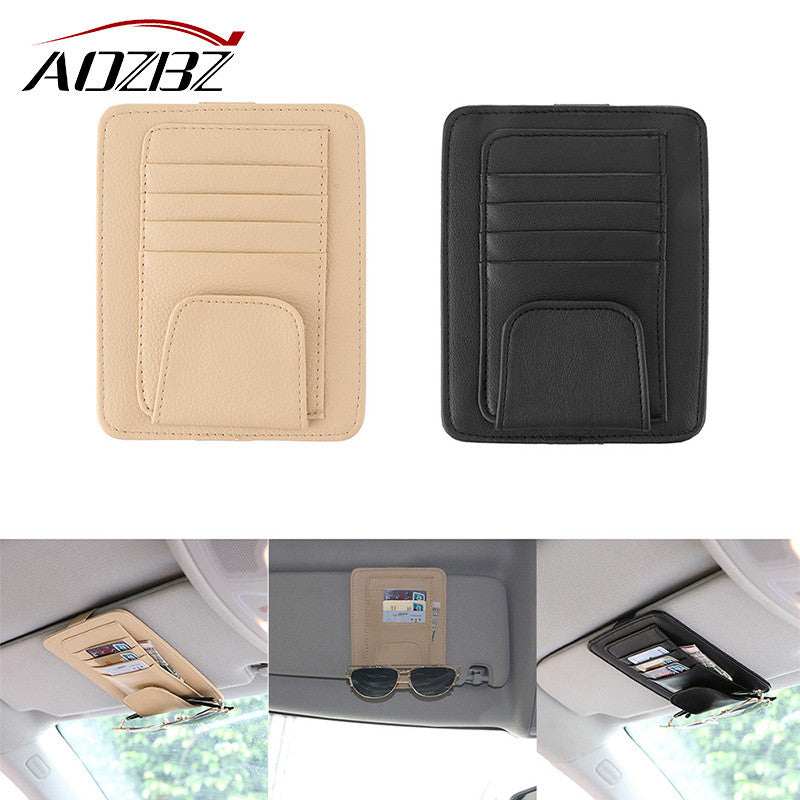 Car Sun Visor CD / DVD Organizer Storage Holder