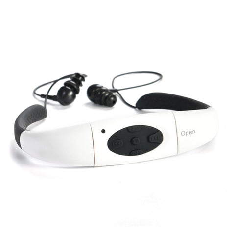 MP3 Player and FM Radio 4GB Waterproof Headset for Swimming