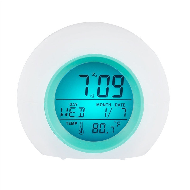 Multi-function Alarm Clock LED Despertador Digital Clock Calendar Thermometer Display Clock