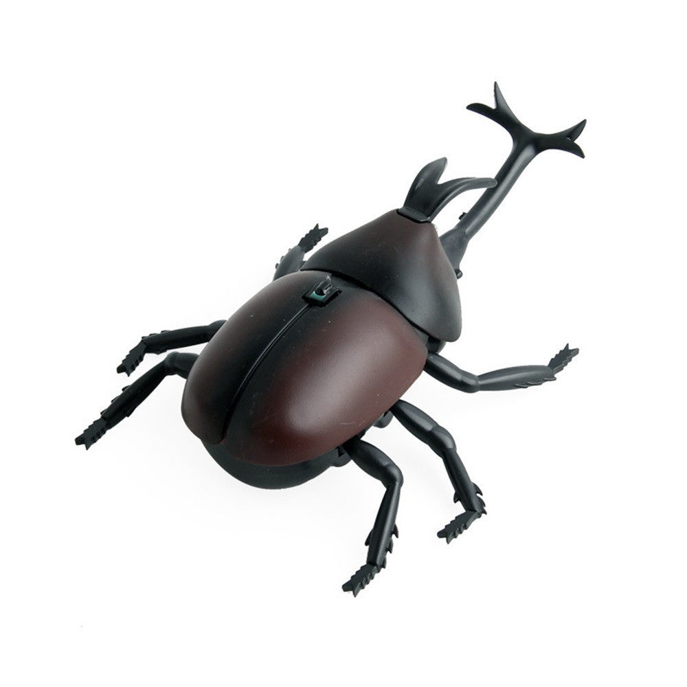 High Simulation Animal Beetle Infrared Remote Control Kids Toy Gift