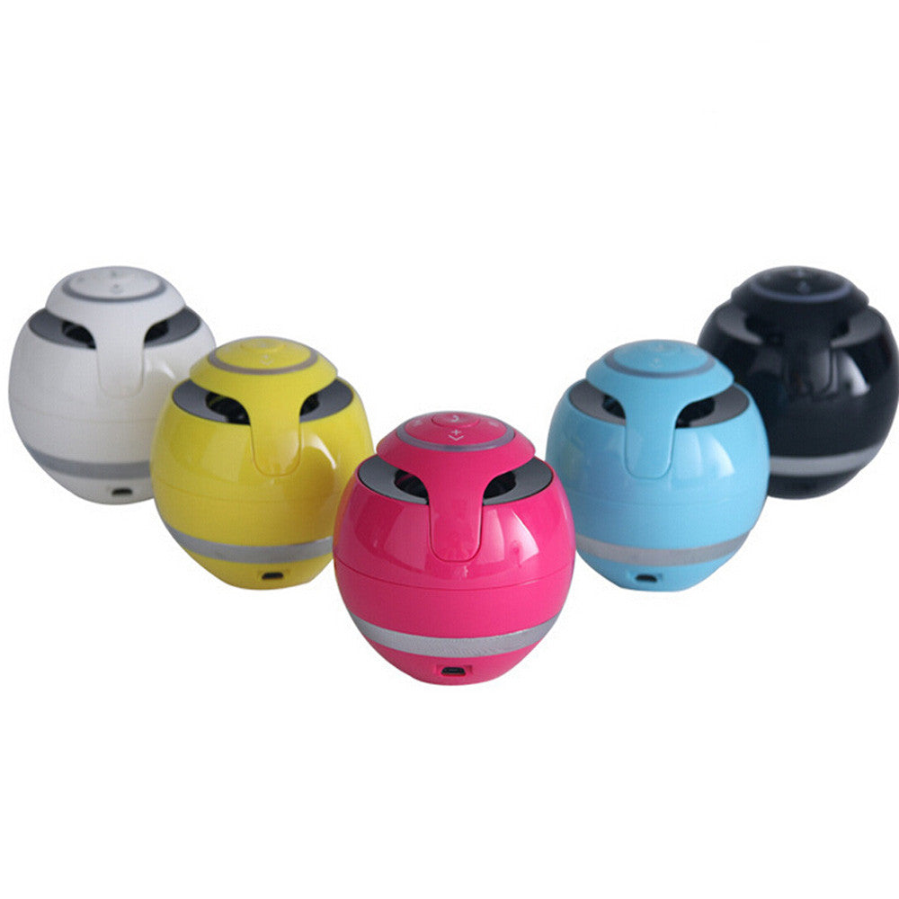 Round Stylish Bluetooth Mini Portable Stereo Wireless Speaker