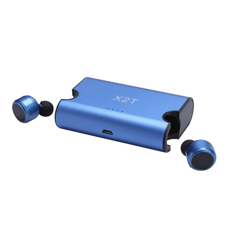 Wireless Bluetooth Headset Invisible Twins earphones with Magnetic Charging Case