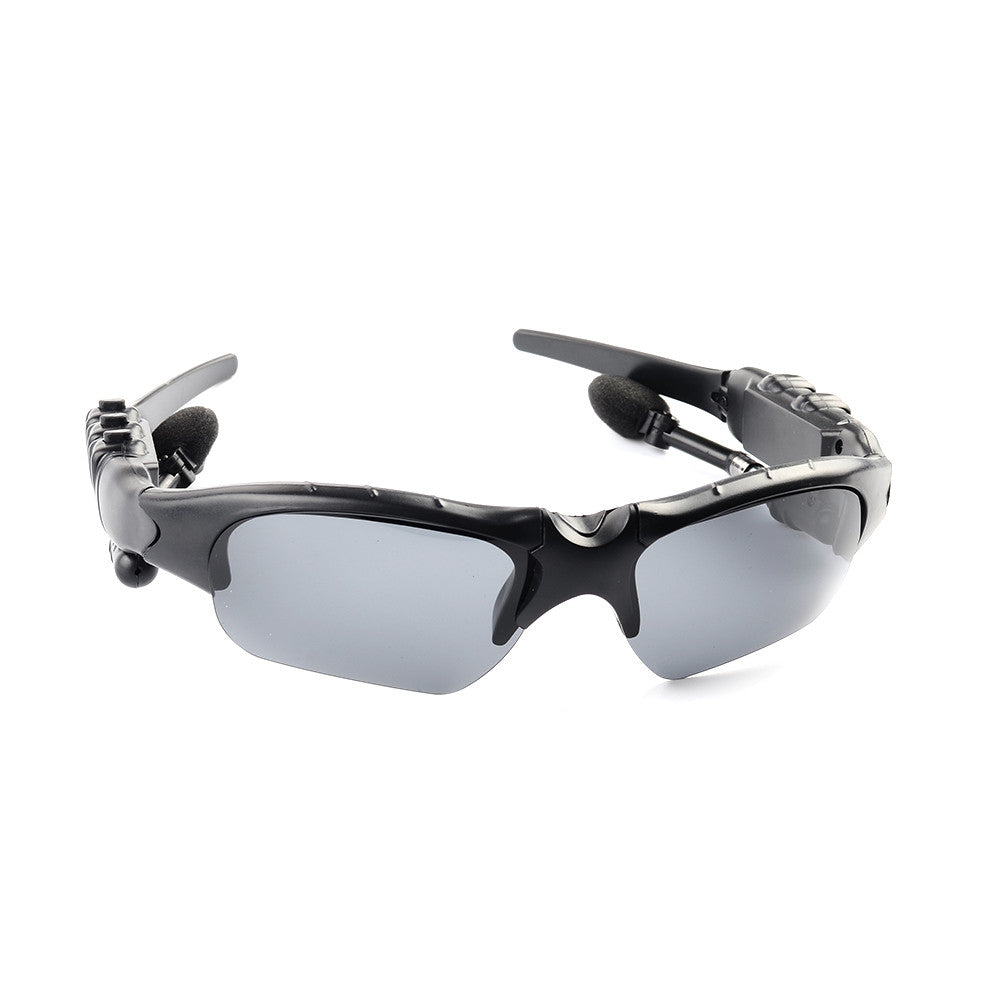 Wireless Bluetooth Rotatable Stereo Sports Sunglasses / Headphone