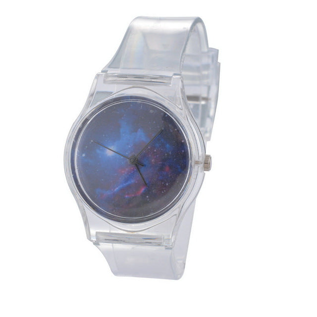 Starry Sky Fashion Quartz Wrist Watch Battery Included