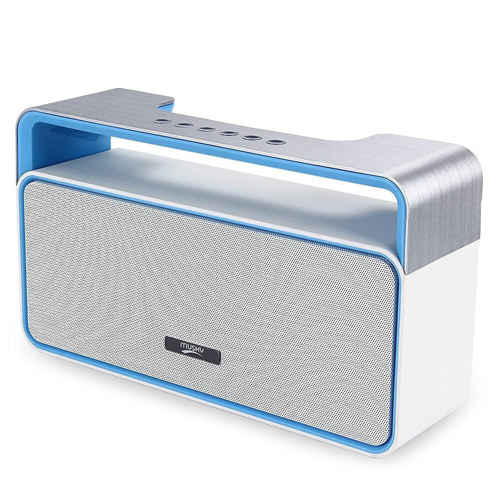 Retro Looking Wireless HiFi Bluetooth Speaker with MP3 FM Radio and AUX plug