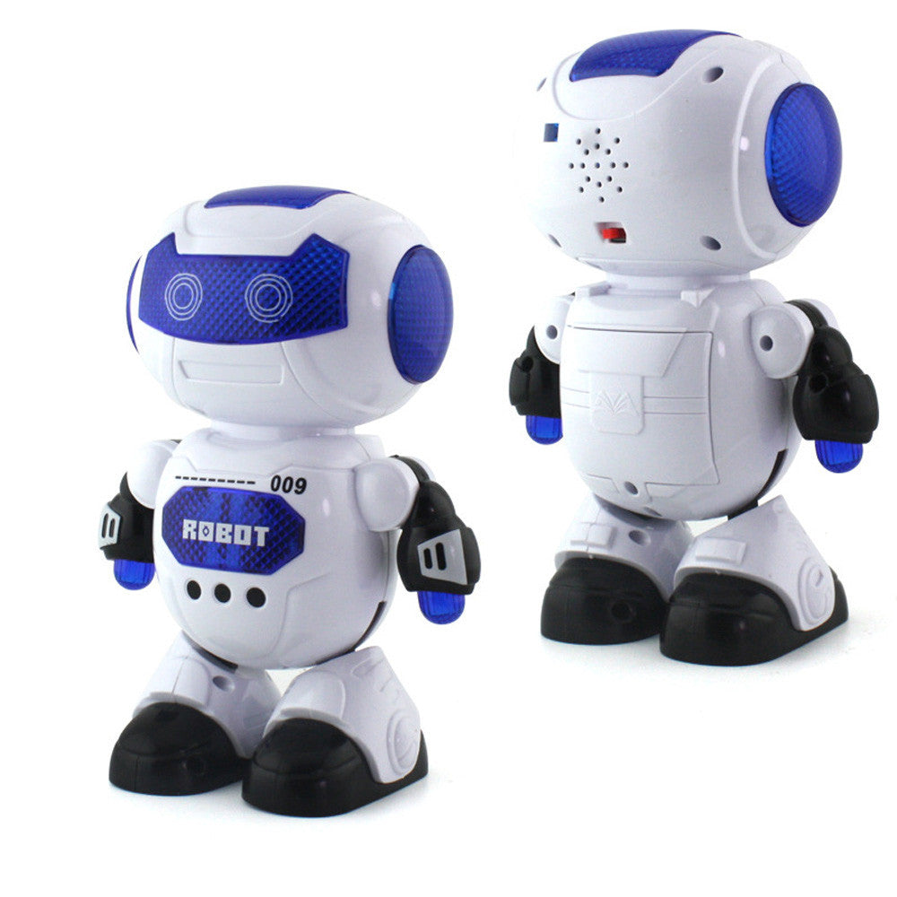 Electronic Dancing Robot With Musical & Lighting Robot Fun Learning Toys For Kids