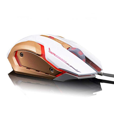 IceRay Professional Wired Gaming Computer Mouse With Silent Click