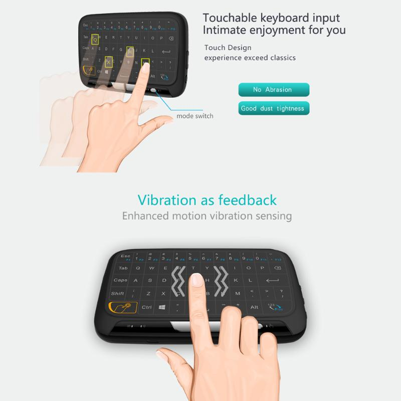 Mini  Touchpad Wireless Qwerty Keyboard Air Mouse