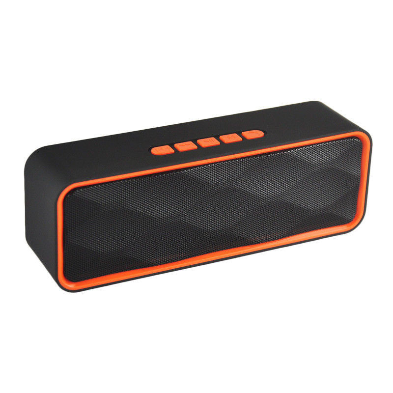 Wireless Bluetooth Portable Stereo Sports Speaker with Subwoofer
