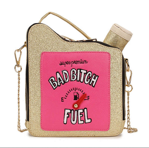 Bad Bitch fuel crossbody bag - Kelita's Kloset