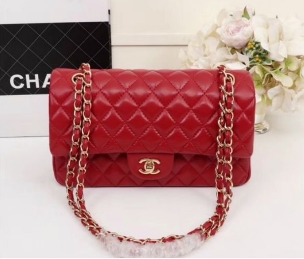 Chanel Leather Handbag - Kelita's Kloset
