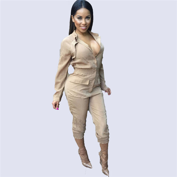 2 PC Jumpsuit - Kelita's Kloset