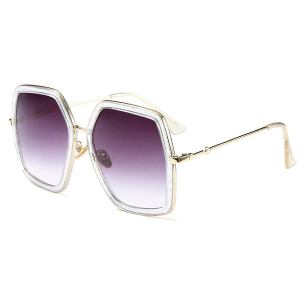 "Oversized ""Gucci"" Inspired Sunglasses - Kelita's Kloset"
