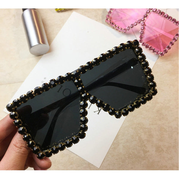 Diamond Square Sunglasses - Kelita's Kloset