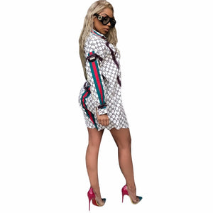 """Gucci"" Inspired Shirt Dress - Kelita's Kloset"