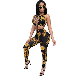 Buy Versace Crop Top And Leggings Up To 62 Off Free Shipping