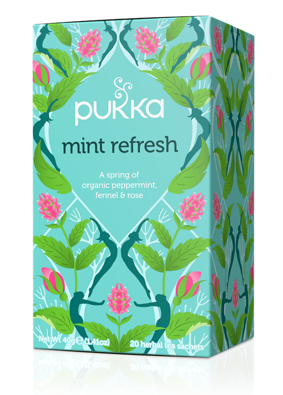 Mint fresh, Pukka - 20 sachets