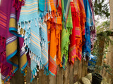 African Beach Towel Plum