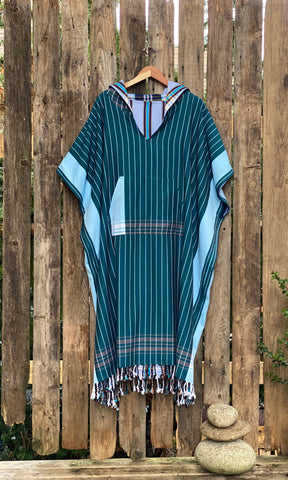 Reversible Poncho Salted-Surf